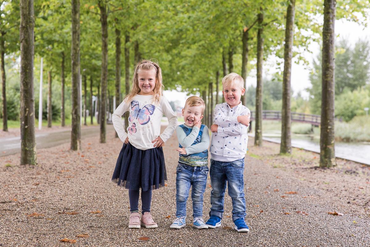 Familie fotosessie door Das' Knuss Fotografie