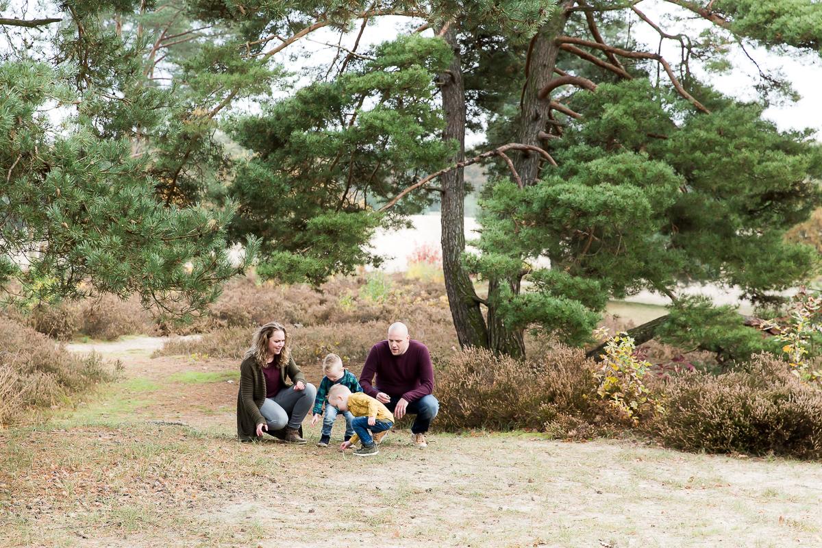 Fotosessie door Dasja Dijkstra van Das Knuss Fotografie op de Soesterduinen
