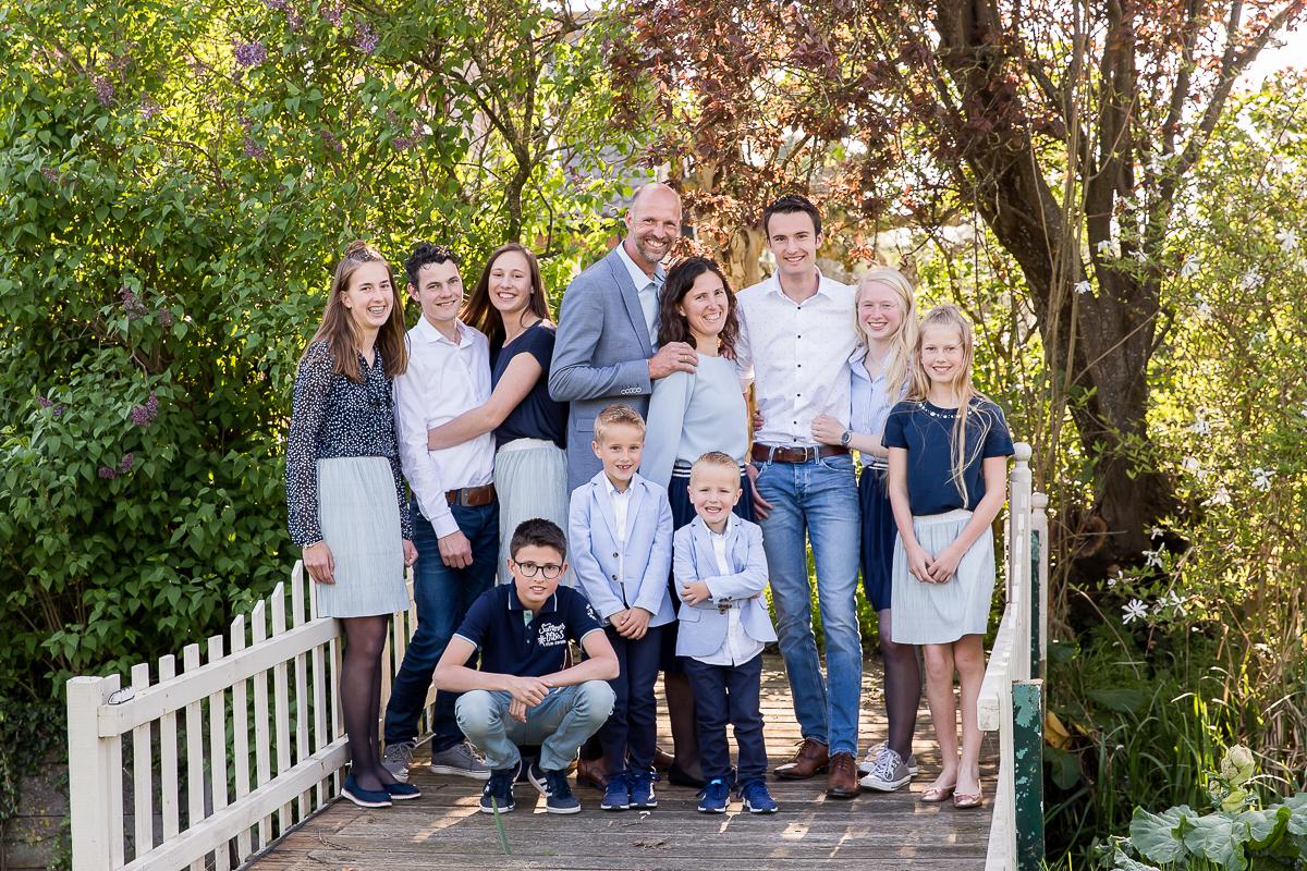 Familie fotosessie door Dasja Dijkstra in Waarder