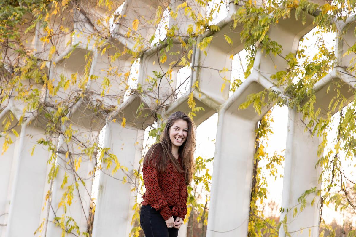 Fotosessie door Dasja Dijkstra van Das Knuss Fotografie in het maximapark in Utrecht herfst park
